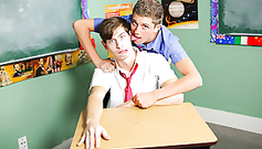 Teen sexy twink boys in the class are naughtily posing to the camera
